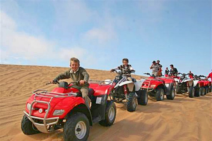 Quad Bike and Camel Ride in Giza Pyramids from Airport