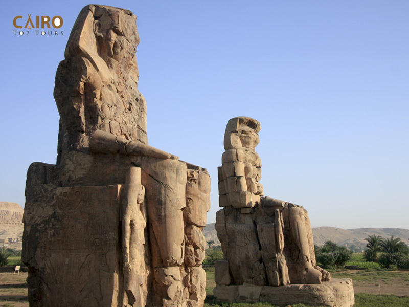 Colossi of Memnon | Amenhotep III Luxor Egypt