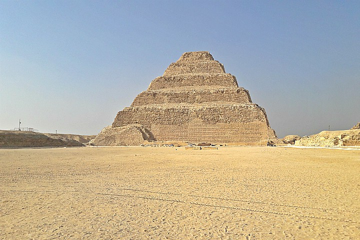 The Step Pyramid | Inside the Step Pyramid | Djoser Pyramid