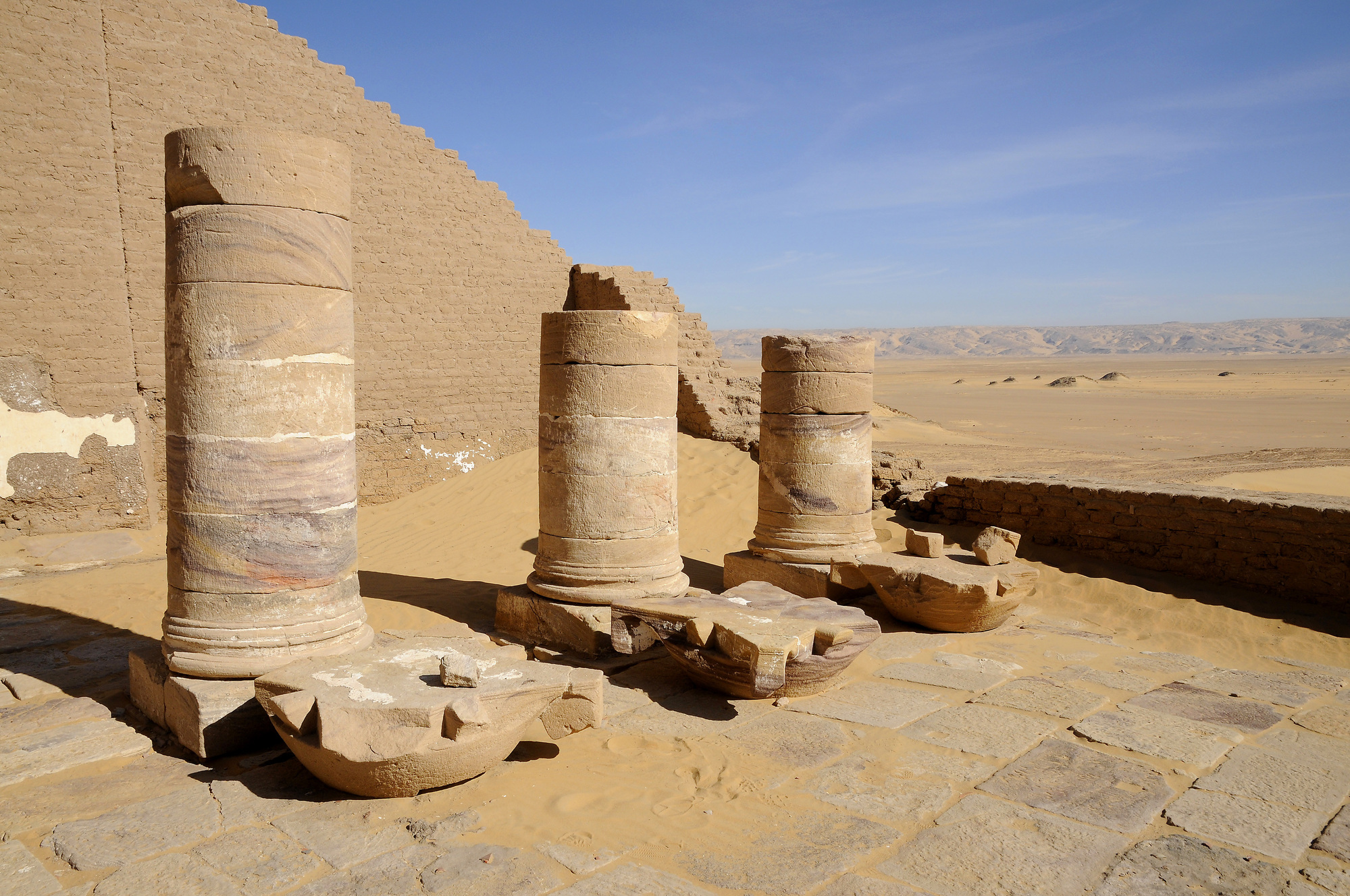 Temple of Dush in Kharga Oasis
