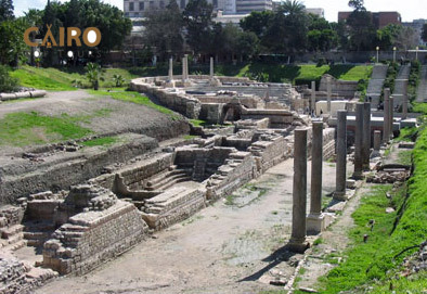 The Roman Amphitheater in Alexandria | Alexandria Attractions