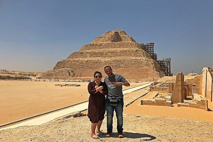 Giza Pyramids Tour to the pyramids, Memphis and Saqqara