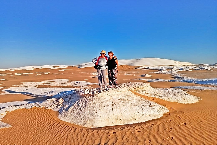 Desert Safari Trip to Bahariya Oasis and the White Desert | White Desert Egypt Tour