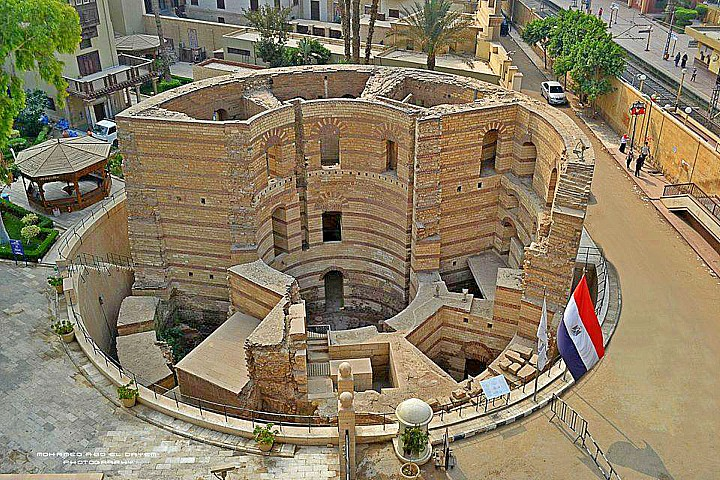 The Roman Fortress of Babylon | Coptic Cairo | Egypt Coptic Churches