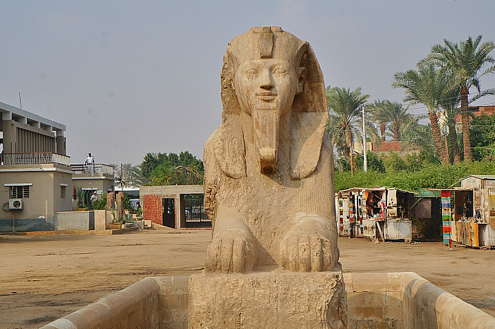 The Alabaster Sphinx of Memphis