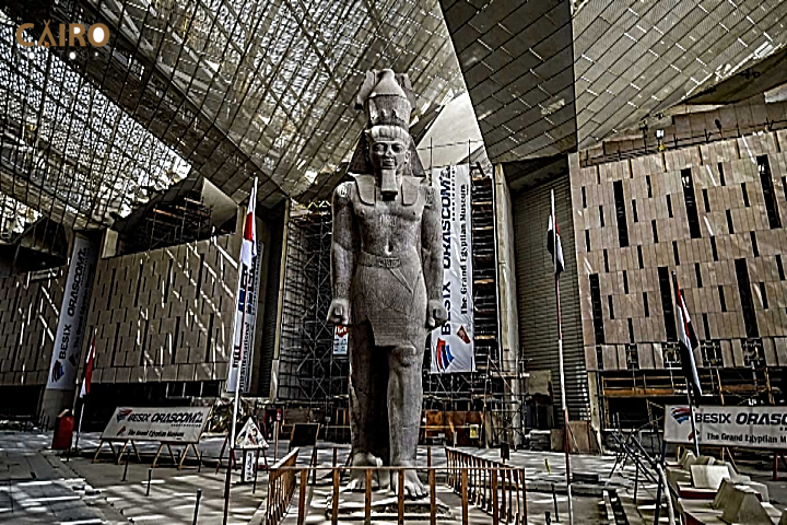 The Grand Egyptian Museum | New Grand Egyptian Museum