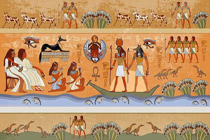 The economy in ancient Egypt