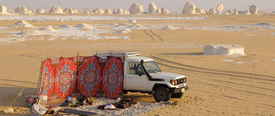 Bahariya Oasis and White Desert 3 Day Safari Trip from Cairo