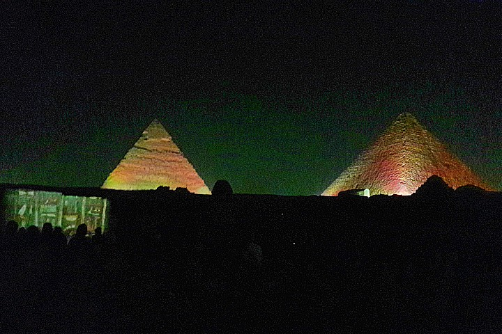 Sound and Light Show Pyramids | Giza Pyramids Sound and Light Show