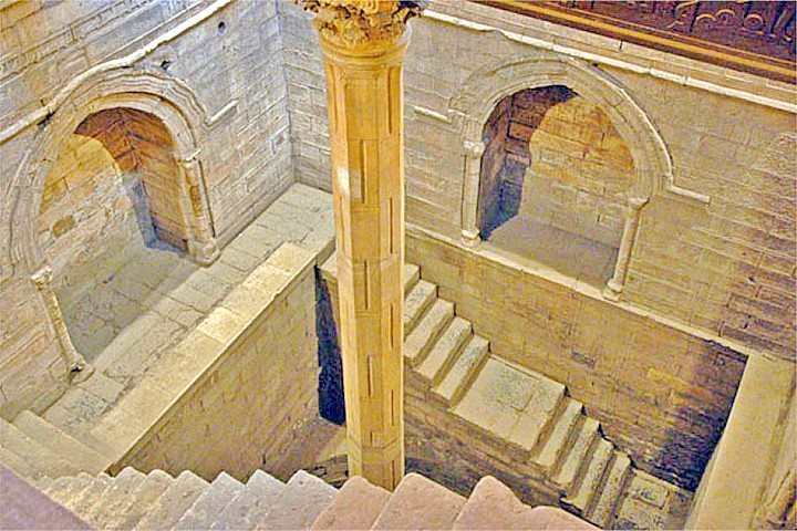 The Roda Nilometer in Cairo