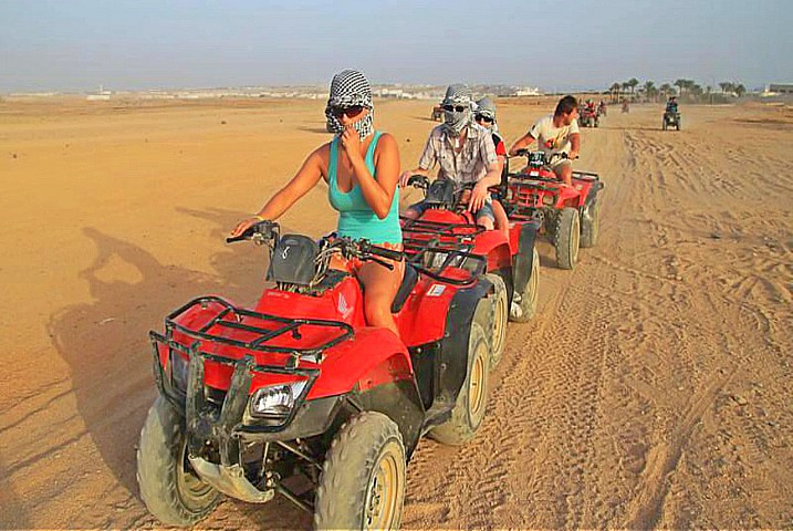 Quad Biking Adventure in Hurghada