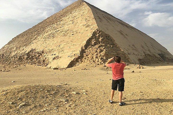 Egypt Meditation Tour in Dahshur Pyramids