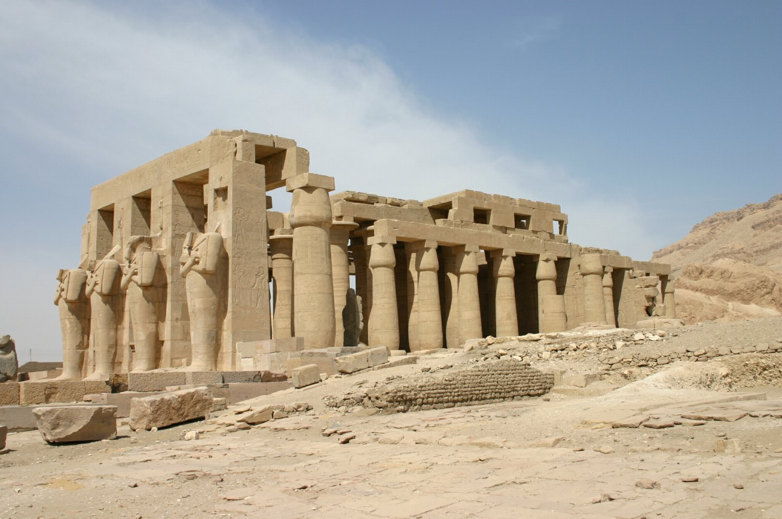 Ramses Temple in Luxor | The Ramesseum in Luxor