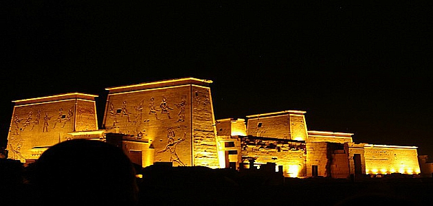 Sound and Light Show in Karnak Temple, Karnak Sound and Light Show, Luxor excursions