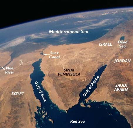 Gulf of Egyptian See| The Gulf of Suez