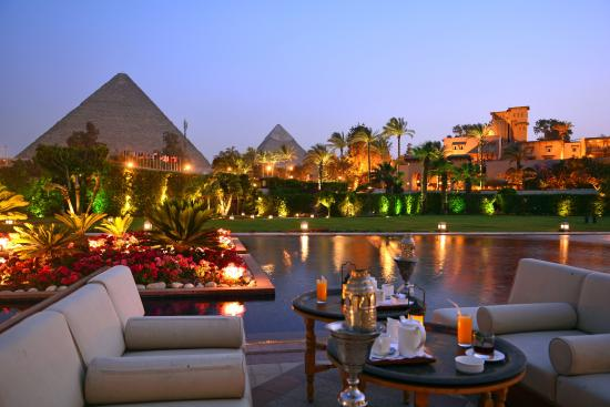Marriott Mena House Hotel   historic Hotels in The World
