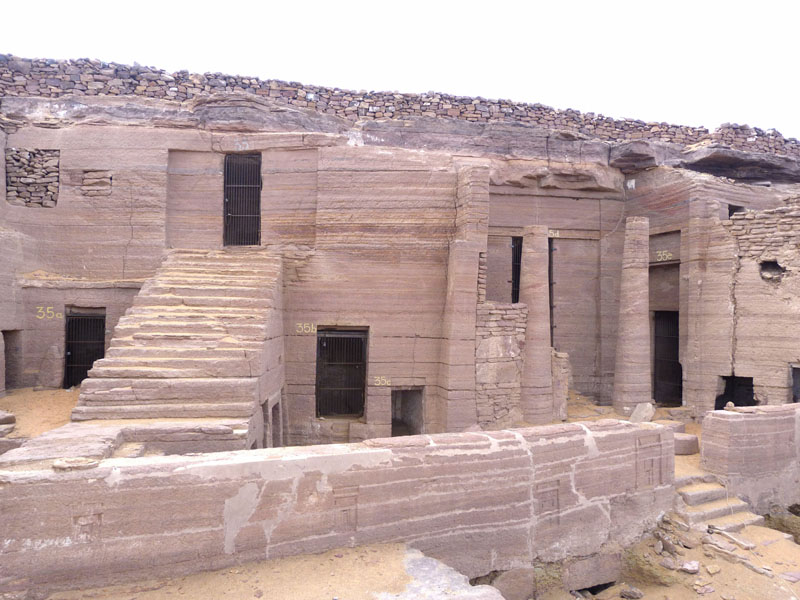 Tombs of the Nobles in Aswan