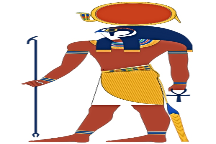 Re-Hor-Achti ( God of ancient Egypt )