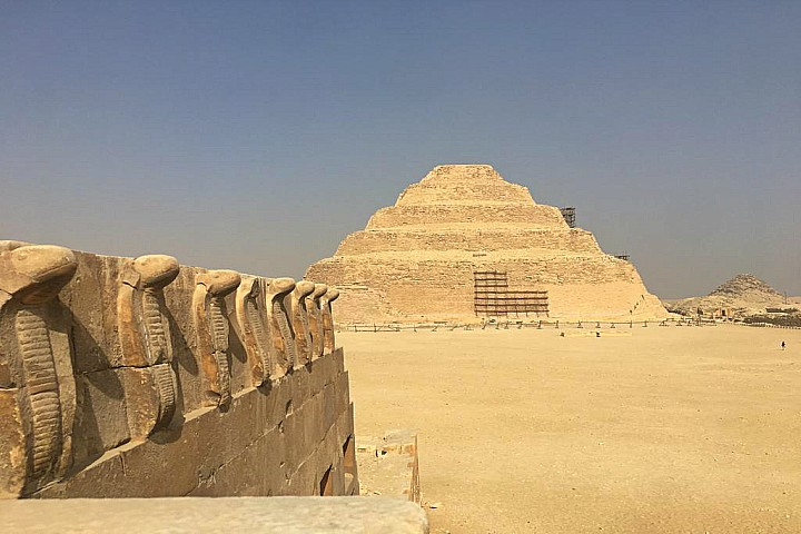 Budget Tour to Pyramids, Saqqara, and Memphis