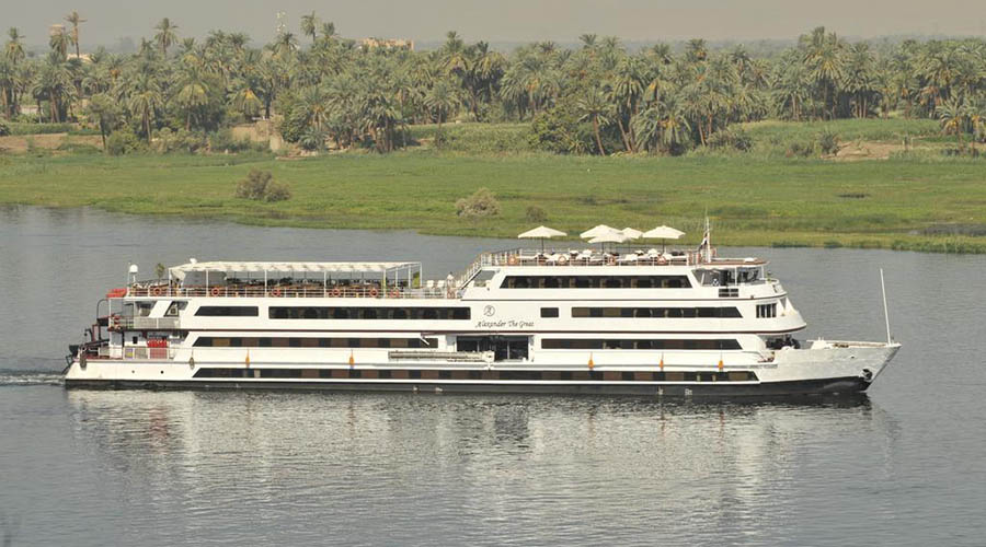 MY Alexander the Great Nile Cruise | Nile Cruise Aswan to Luxor