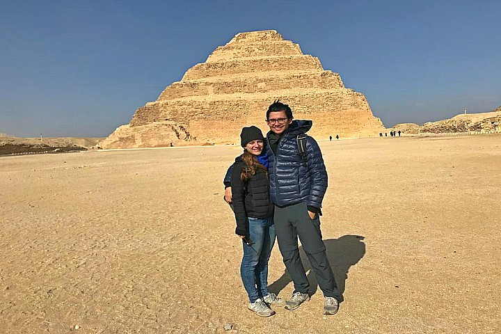 Saqqara and Memphis tour from the Airport | Layover Tour To Saqqara And Memphis From Cairo Airport