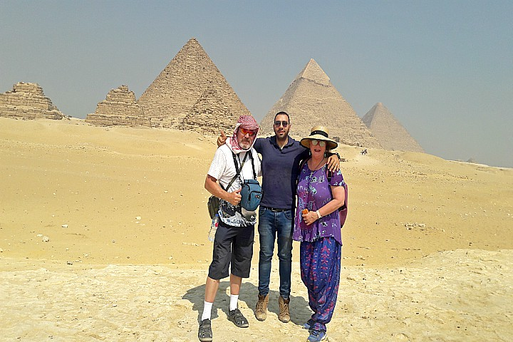 6 Days Cairo and Hurghada Wheelchair Accessible Tour Package.