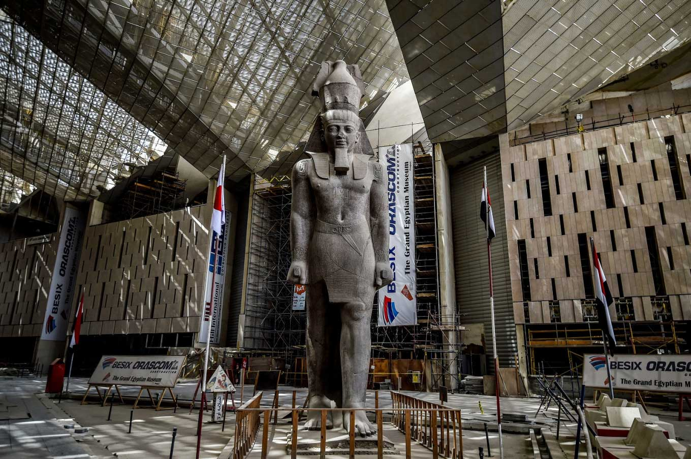 Grand Egyptian Museum and Giza Pyramids Tour from Sokhna Port