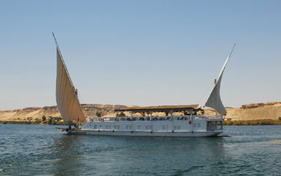 MS Amoura Dahabiya Nile Cruise | Dahabiya Cruise Luxor to Aswan
