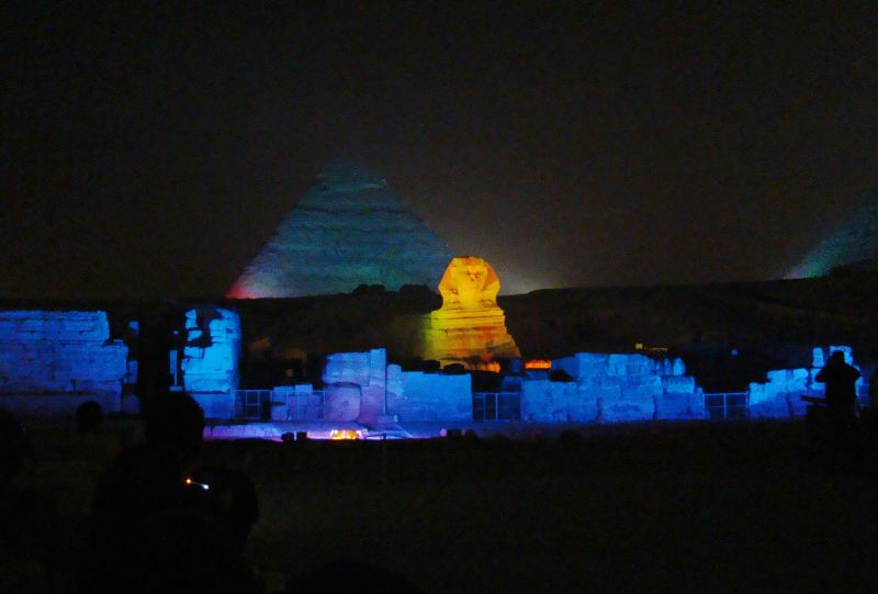 Sound and Light Show at Giza Pyramids | Pyramids Light Show