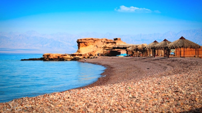 Things to do in Nuweiba | rainbow canyon in Nuweiba.
