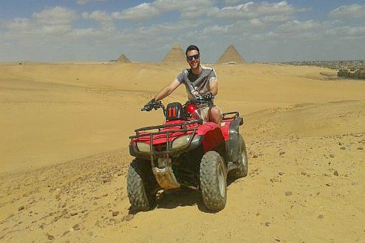 Quad Biking around Giza Pyramids | things to do in Cairo