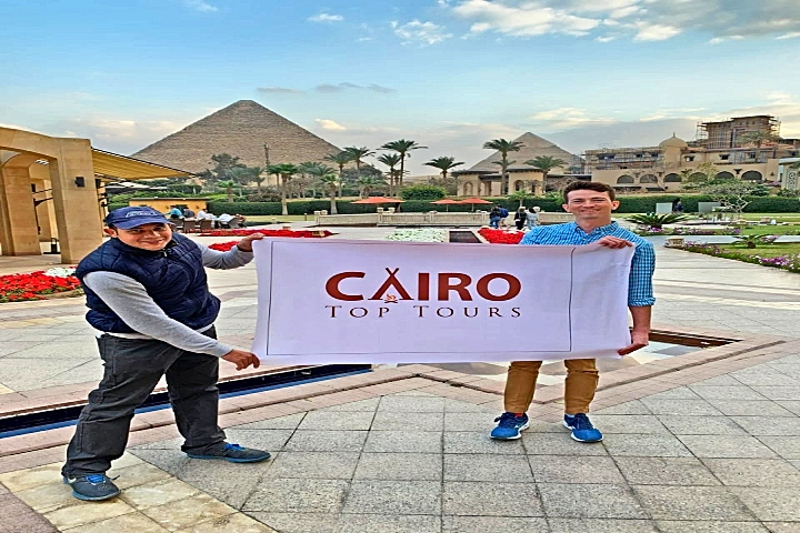 Grand Egyptian Museum and Pyramids Tour from Cairo Airport.